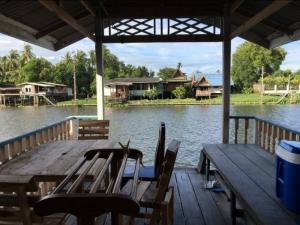 For SaleHouseRama5, Ratchapruek, Bangkruai : Land for sale with waterfront houses, area 237 sq m.
