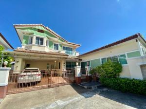 For SaleHouseEakachai, Bang Bon : house for sale Manthana Village Rama II (L&H Land and House) Rama 2 Soi 28 (Soi Wat Si Suk)