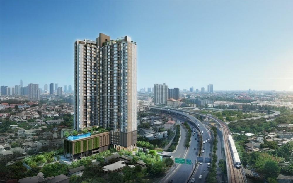 Sale DownCondoThaphra, Wutthakat : Condo for sale down payment Supalai Loft Sathorn-Ratchapruek, size 35 sq m., 1 bedroom type, 24th floor, south balcony, BTS view.