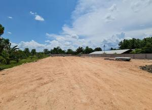 For SaleLandChiang Mai : Land for sale with retaining walls on 3 sides near Baan Tawai