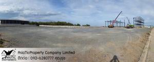 For SaleLandMahachai Samut Sakhon : sale, good location land near Sinsakhon Industrial Estate. 15 minutes from Rama 2 Road