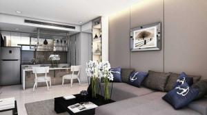 For RentCondoRama3 (Riverside),Satupadit : Condo for rent Star View Rama 3   Type 2 bedroom 2 bathroom Size 78.5 sq.m. Floor 24