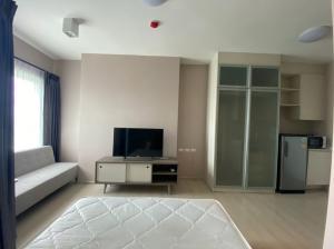 For RentCondoRatchadapisek, Huaikwang, Suttisan : Condo for rent Chapter One Eco Ratchada - Huai Khwang Studio room