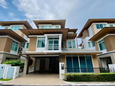 ขายบ้านนวมินทร์ รามอินทรา : ขายบ้านเดี่ยว 3 ชั้น โครงการเดอะไพรมารี่ รัชดารามอินทรา