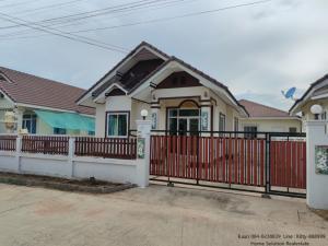 For SaleHouseKorat KhaoYai Pak Chong : Single detached house for sale, Nam Phueng Land, 54 sq m. Nong Ta Kong, Hua Talay, not flooded, beautiful, ready to move in.