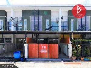 For SaleTownhousePattaya, Bangsaen, Chonburi : Townhouse for sale Prapassorn Village, Precio 4, Chonburi