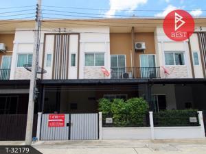For SaleTownhouseRattanathibet, Sanambinna : Townhome for sale Grand Pleno Rattanathibet (Grande Pleno Rattanatibeth), Nonthaburi.