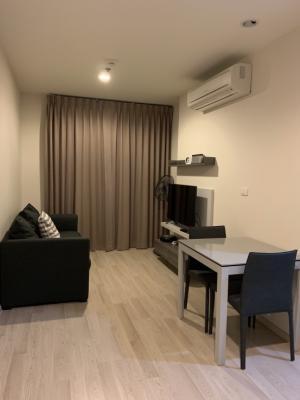 For RentCondoRatchadapisek, Huaikwang, Suttisan : C1047 Condo for rent at Centric Huai Khwang, 100 meters from MRT Huai Khwang Station #Washing Machine Area 38 sqm.