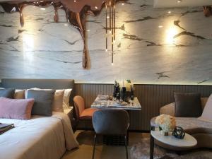 For RentCondoSiam Paragon ,Chulalongkorn,Samyan : Ashton Chula Silom, beautiful room, ready to move in, 19,000/month Tel.0992429293
