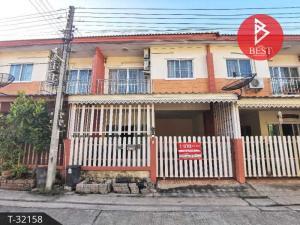 For SaleTownhouseMahachai Samut Sakhon : 2 storey townhouse for sale, Wandee 2, Krathum Baen, Samut Sakhon.