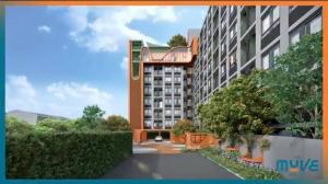 Sale DownCondoKasetsart, Ratchayothin : Selling down payment THE MUVE Agriculture, 8th floor, same floor as the central area.