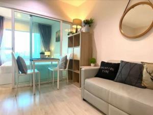 For RentCondoBang Sue, Wong Sawang : 💕 Condo for rent aspire Ratchada-Wong Sawang, beautiful room, pool view, nice room, 1 bedroom, 27 sqm., you can move in.