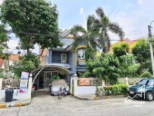 For SaleHouseNawamin, Ramindra : 🏡🍀 Selling cheap!!! Single house, Neighbor Home Watcharaphon (Tararom), Sukhapiban 5, near Ramintra-Atnarong Expressway, Chatuchot Dan (68154)☘