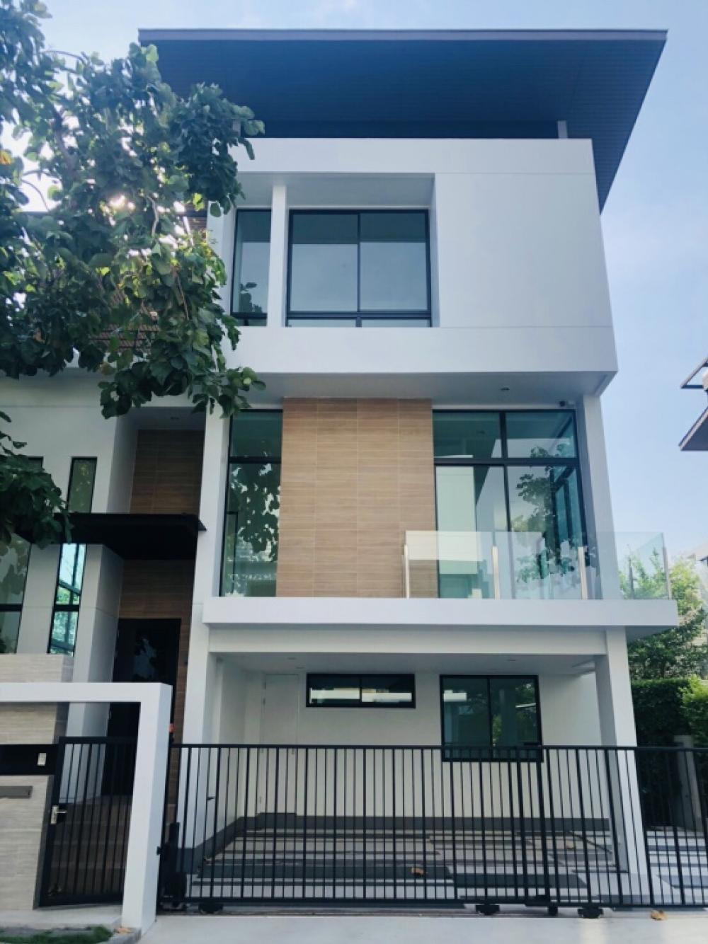 ขายบ้านพัฒนาการ ศรีนครินทร์ : ขาย ถูก ต่ำกว่าตลาด มากบ้านเดี่ยว 3 ชั้น Luxury เนอวานา บียอนด์ ศรีนครินทร์(สวนหลวง ร 9)2.2 กม.จากรถไฟฟ้า MRTสวนหลวง ร.9 ขนาด 54.2 ตรว พื้นที่ 310 ตรม 2 ที่จอดรถ [6406-2011001]