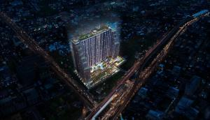 For SaleCondoThaphra, Wutthakat : Best price in the project 🔥Life Sathorn Sierra🔥 Studio 28 sq.m. 🔥 Price 2.35 million baht!! Great value on Ratchaphruek Road, 150 meters from Talat Phlu BTS 💥💥 Contact: 089-221-4242 💥💥