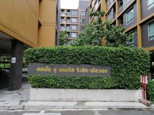 For RentCondoRangsit, Patumtani : Condo for rent at U Campus Rangsit - Muang Ek
