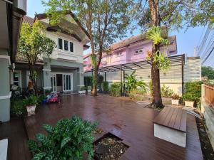 For SaleHouseRama5, Ratchapruek, Bangkruai : House for sale in Ratchaphruek. Laphawan Village 15, price 8.8 million, 115 sq m.