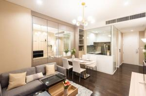 For SaleCondoLadprao, Central Ladprao : Sale The Saint Residences, 2 bedrooms, beautiful decoration, high floor, Chatuchak view, near Central BTS Kasetsart Ratchayothin