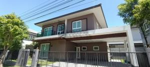 For RentHouseBangna, Lasalle, Bearing : House for rent at Ladarom Bangna Km.7
