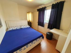 For RentCondoLadkrabang, Suwannaphum Airport : For rent Lumpini Romklao-Suvarnabhumi, size 2 bedrooms, ready to move in, cheapest price