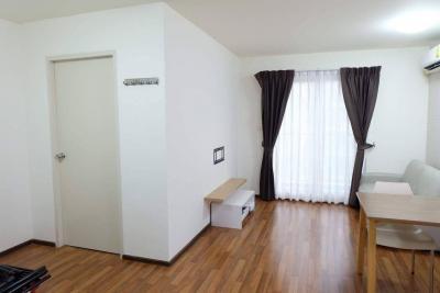 For RentCondoKasetsart, Ratchayothin : 🔥Condo for rent, U Ratchayothin, 1 bedroom, 1 living room, size 38.65 sqm., 5th floor, corner room🔥