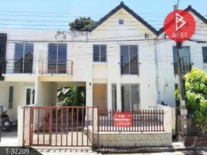 For SaleTownhouseSamrong, Samut Prakan : 2 storey townhouse for sale, Raimond Park Village, Bang Pla, Bang Phli, Samut Prakan.