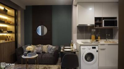 For RentCondoRama9, RCA, Petchaburi : ID020_N🎇CONDO IDEO MOBI ASOKE, beautiful room, fully furnished, ready to move in ✨🎈