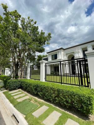 """ขายบ้านพัฒนาการ ศรีนครินทร์ : Selling:Ultra Luxury House """"Sansiri Phattanakarn""""Dragon 🐉 Number House """"789""""                🔥🔥185,000,000 THB 🔥🔥Single house 2 storeyLand size: 276 sq.wahUsable: 661 sq.m.Details: 5 Bed rooms, 6 bath rooms, 1 living room, 2 kitchens, 2 maid rooms , 1 bath"""