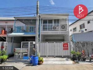 For SaleTownhouseSamrong, Samut Prakan : 2 storey townhouse for sale, Kittinakorn Town Village, Samut Prakan.