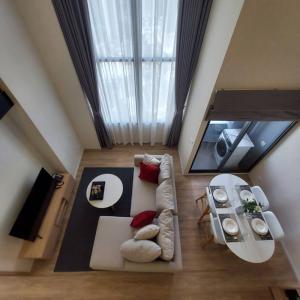 เช่าคอนโดอ่อนนุช อุดมสุข : Condo Siamese Sukhumvit 48 onnut คอนโดให้เช่า ห้องดูเพล๊กซ์ 2ห้องนอน