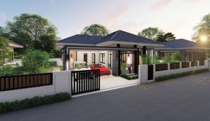 ขายบ้านเชียงใหม่ : บ้านสร้างใหม่คุณภาพ ตั้งอยู่บ้านถวายหางดง มีเพียง 8 หลัง เท่านั่น