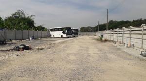 For RentLandYothinpattana,CDC : Code C4144, long-term land for rent, 1 rai 28 square wa, poured concrete, Sam Wa Road, Bangkok.