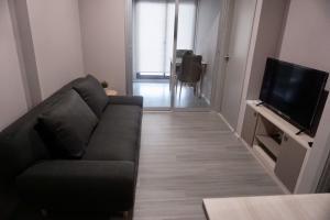 For RentCondoPinklao, Charansanitwong : Parkland Charan-Pinklao, Room 1Bedroom 34.74 sqm. 9th floor, Building B 13,000/month