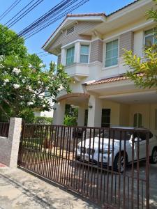 For SaleHouseSamrong, Samut Prakan : House for sale, Baan Chaiyapruek, Theparak, Soi Bang Pla 2, T. Bang Pla , A. Bang Phli , Samut Prakan.