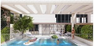 Sale DownCondoBangna, Lasalle, Bearing : Rooftop garden duplex room, private pool