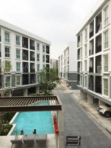 For RentCondoChengwatana, Muangthong : Plum condo mix - Chaengwattana Rd. (phase 2) 1 bedroom, pool view