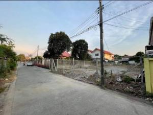 For RentLandRattanathibet, Sanambinna : For rent, vacant land 120 sq wa, Soi Tiwanon 25.