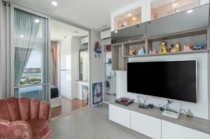 For RentCondoBang kae, Phetkasem : Fully furnished room ✨ beautiful-luxurious ✨ corner room, 6th floor, pool view 💦 only 9000 baht! 🔥🔥The President Phetkasem-Bang Khae @Line : akhira_love