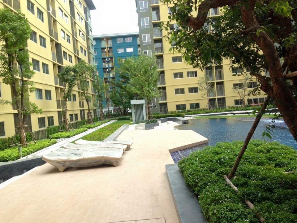 For RentCondoRangsit, Patumtani : Condo for rent, Plum Condo Park Rangsit, near Bangkok University, 1 bedroom, size 22.04 sq.m.