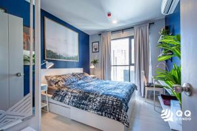 For RentCondoOnnut, Udomsuk : For rent  Life Sukhumvit 48  1Bed, size 32 sq.m., Beautiful room, fully furnished.