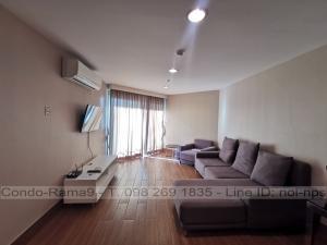 For RentCondoRama9, RCA, Petchaburi : RENT !! Condo Belle Grand, MRT Rama 9, 3 Beds/2 Baths, Tower A2, Floor 22, 98 sq.m., Rent 38,000.-