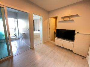 For RentCondoThaphra, Wutthakat : Available for rent Aspire Sathorn thrapra, large room, size 32 sqm, south, cheap price