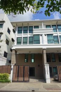 For RentTownhouseSathorn, Narathiwat : BS731 Townhome for rent, 3.5 floors, Soi Narathiwat 10, Sathorn District, suitable for showrooms, offices, convenient transportation