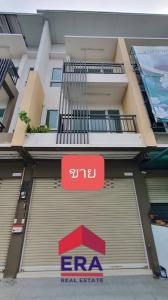 For SaleShophousePattaya, Bangsaen, Chonburi : L#94895 3-storey commercial building for sale, area 35.4 sq wa, near Sriracha Tiger Zoo.