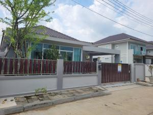For SaleHouseHatyai Songkhla : ็๋Hot sale, detached house, Baan Rim Muang Khlong Hae project, Hatyai , 2 bedrooms, 2 bathrooms, beautiful furniture, fully furnished, ready to move in.
