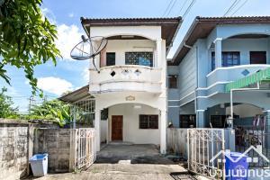 For SaleTownhouseBangbuathong, Sainoi : Townhome 2 floors, Piam Suk Village 1, Bang Yai (corner plot), good location, near Kanchanaphisek Road.