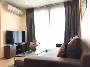 For RentCondoOnnut, Udomsuk : Condo for rent Rhythm Sukhumvit 50 Type 2 bedroom 2 bathroom Size 65.5 sq.m. Floor 28