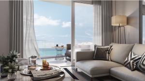 ขายดาวน์คอนโดหัวหิน ประจวบคีรีขันธ์ : ขาย New ฺBeachfront condo  @Veranda Residence Huahin 1ห้องนอน (มีน้อย) วิวทะเลสวย Fully Furnished พร้อมอยู่