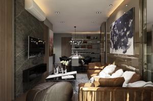 For RentCondoSukhumvit, Asoke, Thonglor : Condo for rent Park 24 Type 2 bedroom 2 bathroom Size 56 sq.m. Floor 27