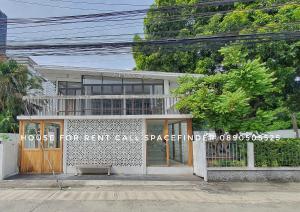 """เช่าบ้านสุขุมวิท อโศก ทองหล่อ : """"The Garden Haus""""Suitable for Cafe / Restaurant3 Bedrooms House for rent in Thonglor Area"""